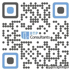 QR code with logo b7r0