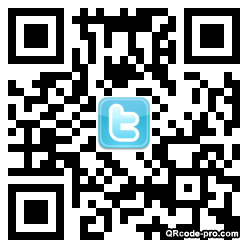QR code with logo bB20