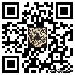 QR code with logo bJU0