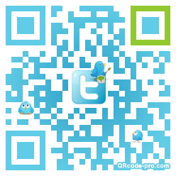 QR code with logo bVY0