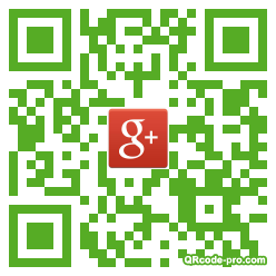 QR code with logo bzM0
