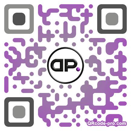 QR code with logo c3e0
