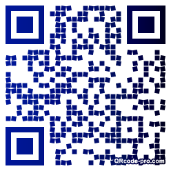 QR code with logo c4t0