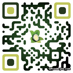 QR code with logo cAY0