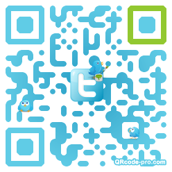 QR code with logo cf90