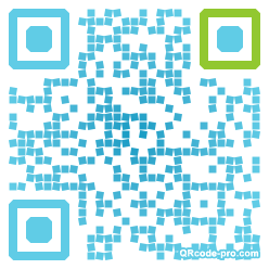QR code with logo cfT0