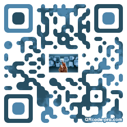 QR code with logo cwp0