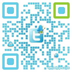 QR code with logo d9l0