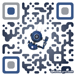 QR code with logo dCP0