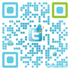 QR code with logo dLj0