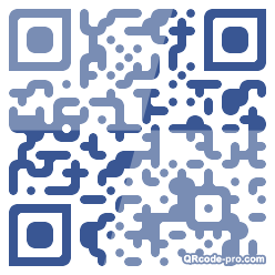 QR code with logo dMZ0