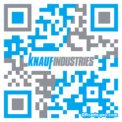 QR code with logo dNG0