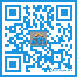 QR code with logo dR90