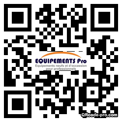 QR code with logo dT10