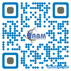 QR code with logo dcb0