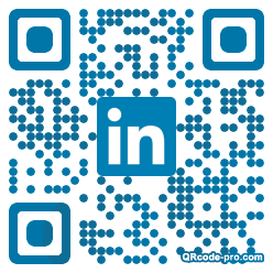 QR code with logo dht0
