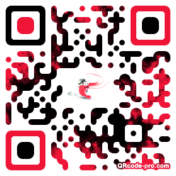 QR code with logo dro0