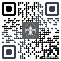QR code with logo dvI0
