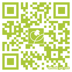 QR code with logo dxb0