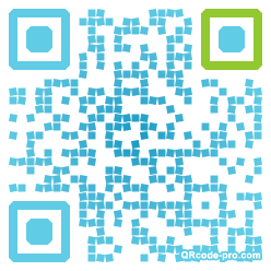 QR code with logo e1Q0