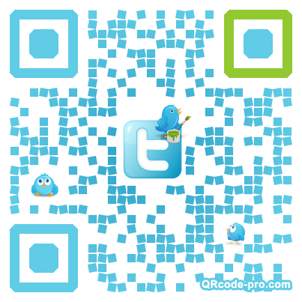 QR code with logo eAy0