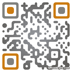 QR code with logo eVT0