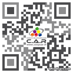 QR code with logo eoW0