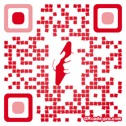 QR code with logo fLe0