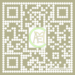 QR code with logo fMs0