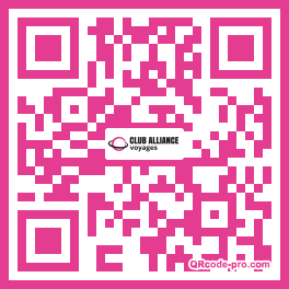 QR code with logo fPr0