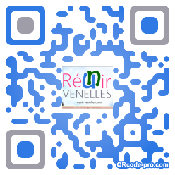 QR code with logo fTo0