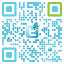 QR code with logo fVk0