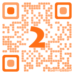QR code with logo frL0