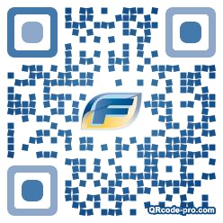 QR code with logo g4E0