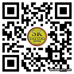 QR code with logo gL20