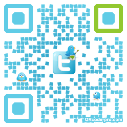 QR code with logo glX0