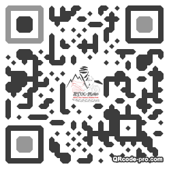 QR code with logo gnh0
