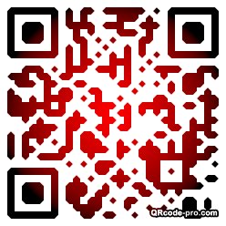 QR code with logo gqp0