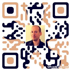 QR code with logo gsR0