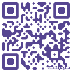 QR code with logo gzo0
