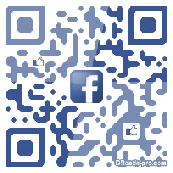 QR code with logo hL10