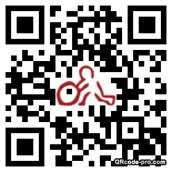 QR code with logo hOg0