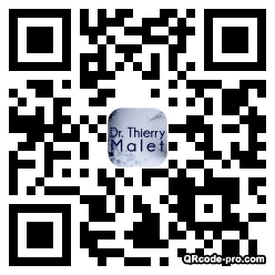QR code with logo hYF0