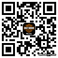 QR code with logo hbP0