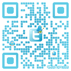QR code with logo hmL0