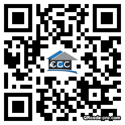 QR code with logo i3n0