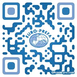 QR code with logo iAE0