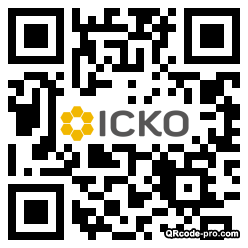 QR code with logo iC90