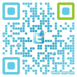 QR code with logo iNx0