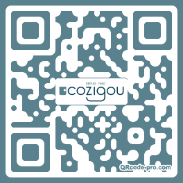 QR code with logo iOr0